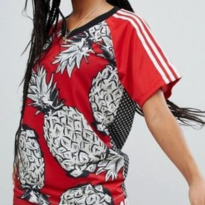 Adidas Originals Farm Collab Red Pineapple Jersey